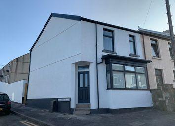 Thumbnail 3 bed end terrace house for sale in Fern Street, Cwmbwrla, Swansea
