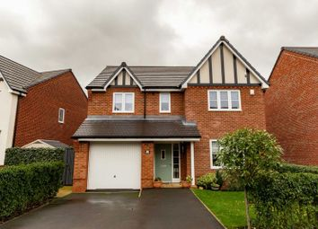 Thumbnail 4 bed detached house for sale in New Mill Street, Eccleston
