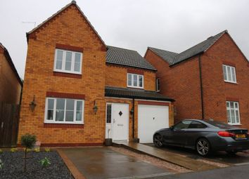 Thumbnail 4 bed detached house for sale in Hastings Meadow Close, Kirby Muxloe