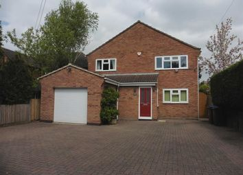 Thumbnail 4 bed detached house to rent in Coventry Road, Burbage, Hinckley