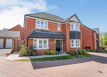 Thumbnail 4 bed detached house for sale in Sladden Close, Badsey, Evesham, Worcestershire