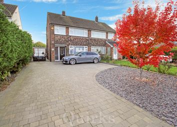 Thumbnail 3 bed semi-detached house for sale in Mountnessing Road, Billericay