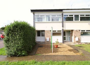 Thumbnail 3 bed terraced house to rent in Addingtons Road, Great Barford, Bedford
