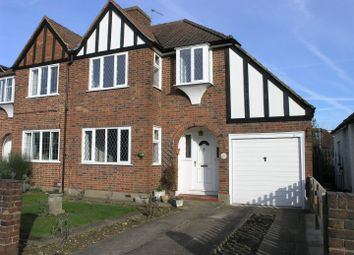 Thumbnail 3 bed property for sale in Redway Drive, Whitton, Twickenham