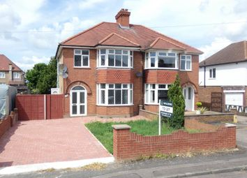 Thumbnail 3 bed semi-detached house to rent in Birchdale Avenue, Kempston, Bedford