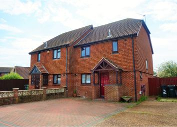 Thumbnail 3 bed semi-detached house for sale in Exceat Close, Eastbourne