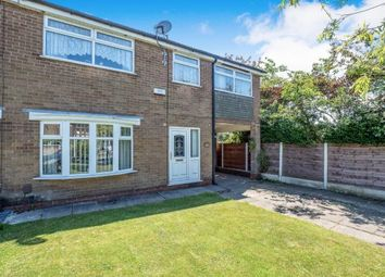 Thumbnail 3 bed semi-detached house for sale in Howclough Close, Worsley, Manchester, Greater Manchester