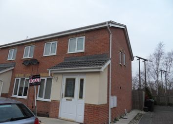 Thumbnail 3 bed town house to rent in Walstow Crescent, Armthorpe
