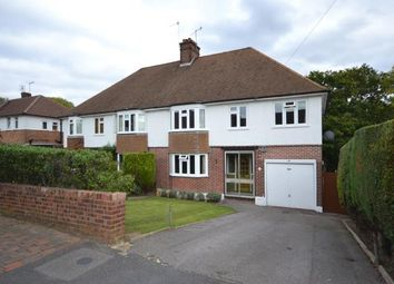 Thumbnail 4 bed semi-detached house for sale in Newlands Road, Tunbridge Wells, Kent