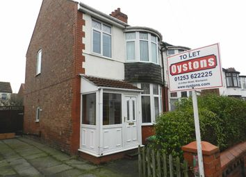 Thumbnail 3 bed semi-detached house to rent in Fernhurst Ave, South Shore, Blackpool