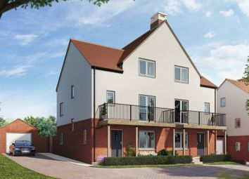 "Thumbnail 4 bedroom semi-detached house for sale in ""The Walker"" at Andover Road North, Winchester"