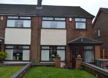 Thumbnail 3 bed semi-detached house for sale in New Glade Hill, St Helens, Merseyside