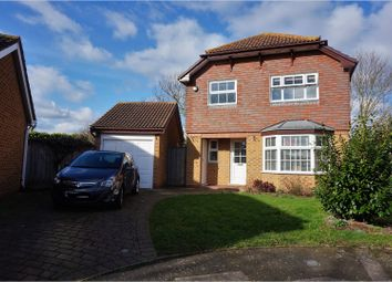 Thumbnail 4 bedroom detached house for sale in Cheyne Close, Sittingbourne