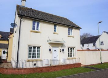 Thumbnail 3 bed detached house for sale in Aspen Close, Cullompton