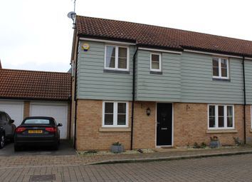 Thumbnail 3 bed semi-detached house for sale in Cagney Crescent, Oxley Park, Milton Keynes