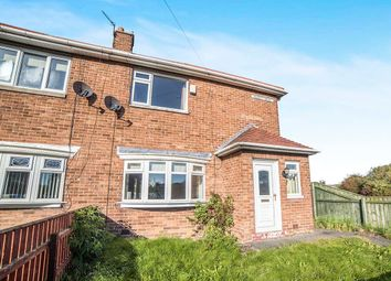 Thumbnail 2 bedroom semi-detached house for sale in Dudley Drive, Dudley, Cramlington
