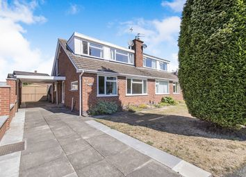 Thumbnail 3 bed semi-detached house for sale in Leconfield Road, Loughborough