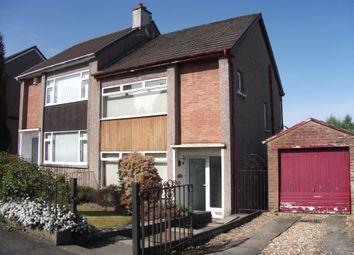 Thumbnail 3 bed semi-detached house for sale in Parkview Drive, Coatbridge