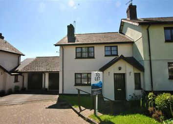 Thumbnail 3 bed semi-detached house to rent in Reed Meadow, Hatherleigh, Okehampton