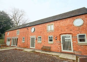 Thumbnail 4 bed barn conversion for sale in Oak Road, Eccleshall, Stafford