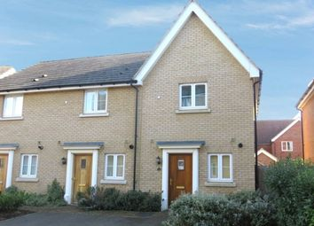Thumbnail 2 bed end terrace house for sale in Thyme Close, Red Lodge, Bury St. Edmunds