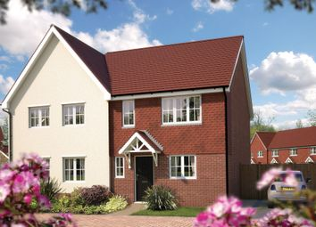 "Thumbnail 3 bedroom semi-detached house for sale in ""The Preston"" at Fulbeck Avenue, Worthing"