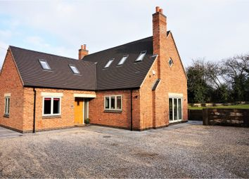 Thumbnail 4 bed detached house for sale in Ashby Road, Swadlincote