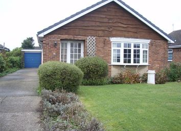Thumbnail 3 bed detached bungalow to rent in Ribston Close, Bottesford, Scunthorpe