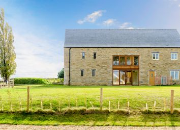Thumbnail 5 bed barn conversion for sale in Great North Road, Wittering, Peterborough