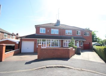 Thumbnail 3 bed semi-detached house for sale in Knowsley Drive, Swinton, Manchester, Greater Manchester