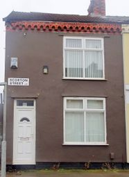 Thumbnail 2 bed end terrace house for sale in Scorton Street, Anfield, Liverpool