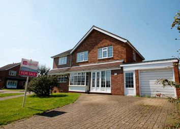 Thumbnail 5 bed detached house for sale in Home Close, Sharnbrook, Bedford