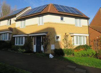 Thumbnail 4 bed semi-detached house for sale in Sakura Walk, Willen Park, Milton Keynes