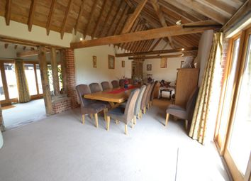 Thumbnail 4 bedroom barn conversion for sale in Bowbeck, Bardwell, Bury St. Edmunds