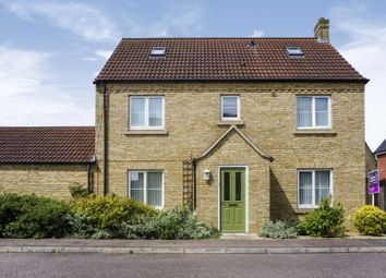 Thumbnail 4 bed detached house for sale in Bellamy Close, St. Neots