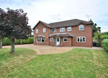 Thumbnail 5 bed detached house for sale in Smeeth Road, St. Johns Fen End, Wisbech