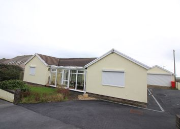 Thumbnail 4 bed detached bungalow for sale in Westaway Drive, Hakin, Milford Haven, Pembrokeshire.