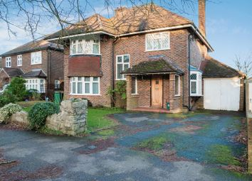 Thumbnail 4 bed detached house for sale in Park Road, Banstead