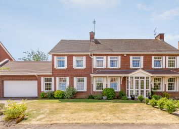Thumbnail 7 bed detached house for sale in Cranborne Gardens, Oadby, Leicester