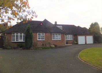 Bennett Road, Four Oaks, Sutton Coldfield B74. 5 bed detached bungalow for sale