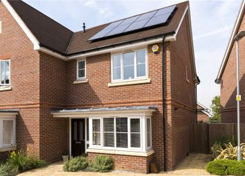 Thumbnail 3 bed detached house for sale in Lowther Close, Chertsey, Surrey
