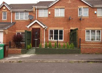 Thumbnail 2 bed terraced house for sale in Foxham Drive, Manchester, Greater Manchester