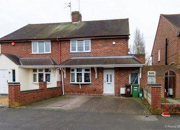Thumbnail 2 bedroom semi-detached house for sale in Bealeys Avenue, Wednesfield, Wolverhampton, West Midlands