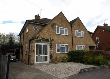 Thumbnail 3 bed semi-detached house for sale in Cumberwell Drive, Enderby, Leicester, Leicestershire
