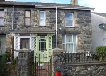 Thumbnail 3 bed semi-detached house for sale in Ffordd Llanllechid, Llanllechid, Bethesda, Gwynedd