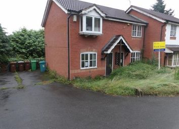 Thumbnail 2 bedroom end terrace house for sale in Pendle Crescent, Mapperley, Nottinghamshire