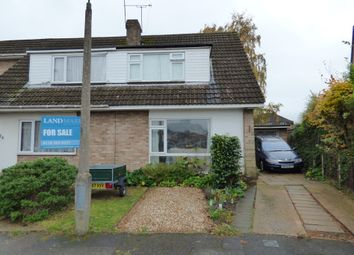 Thumbnail 3 bed semi-detached house for sale in Carrick Gardens, Woodley