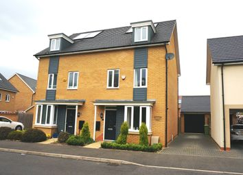 Thumbnail 4 bedroom semi-detached house for sale in Wilkinson Crescent, Stratford Park, Wolverton