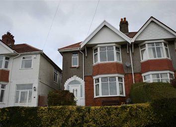 Thumbnail 4 bed semi-detached house for sale in Lon Gwynfryn, Swansea