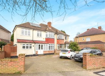 Thumbnail 4 bed semi-detached house for sale in Copthall Road West, Ickenham, Uxbridge, Middlesex